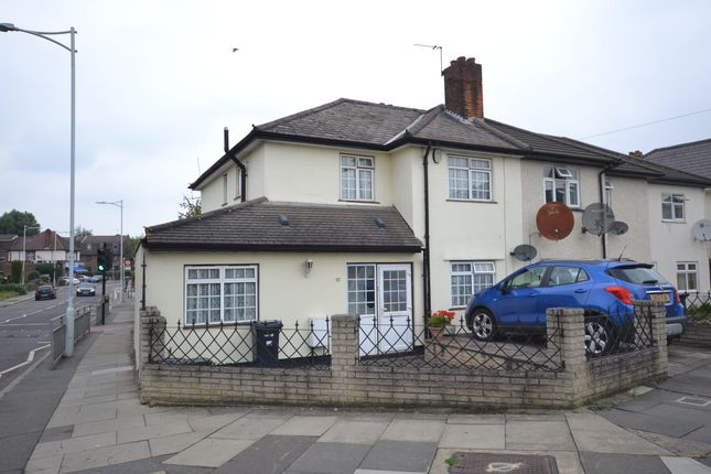 Thumbnail End terrace house to rent in Chadwell Heath Lane, Romford