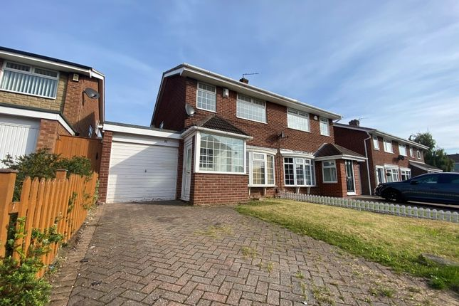 Thumbnail Semi-detached house for sale in 23 Watton Road, Thornaby, Stockton-On-Tees, Cleveland