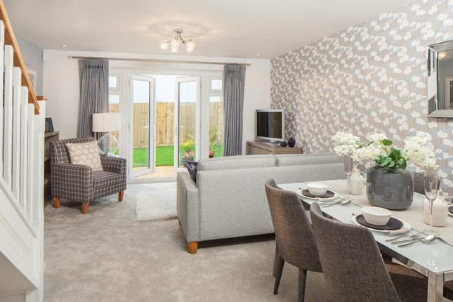 "Thumbnail End terrace house for sale in ""Tiverton"" at Charlton Park, Midsomer Norton, Radstock"