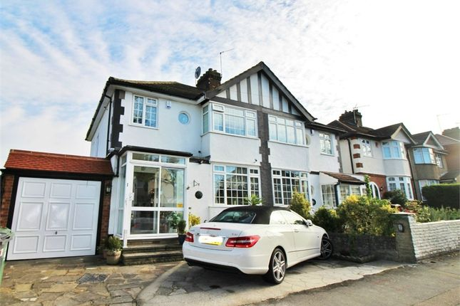 Thumbnail Semi-detached house for sale in Dale View Avenue, Chingford, London