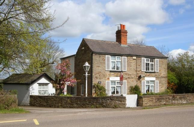 Thumbnail Detached house for sale in Top Road, Calow, Chesterfield, Derbyshire