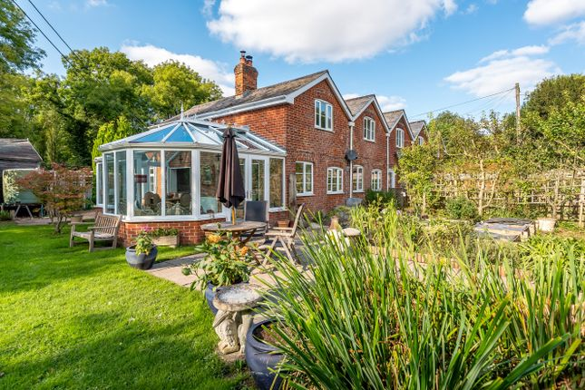 Thumbnail End terrace house for sale in Middle Wallop, Stockbridge