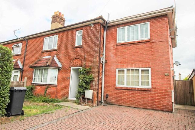 Thumbnail Semi-detached house to rent in Castle Road, Winton, Bournemouth