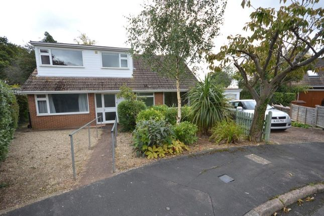 Thumbnail Detached bungalow for sale in Bindon Road, Pinhoe, Exeter, Devon
