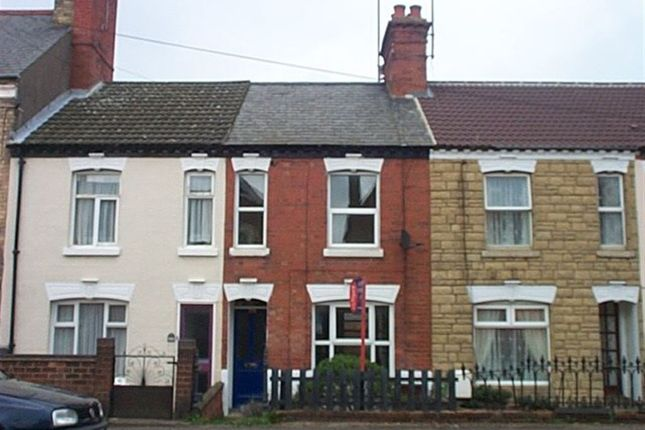 Thumbnail Terraced house to rent in Wellingborough Road, Rushden