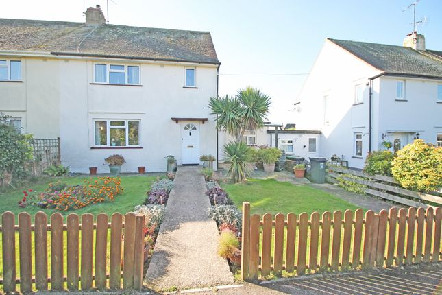 Thumbnail End terrace house for sale in Parkway, Woodbury, Exeter