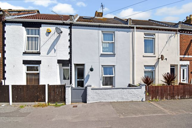 Thumbnail Terraced house to rent in San Diego Road, Gosport