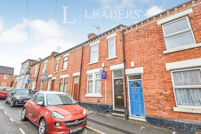 Thumbnail 3 bed terraced house to rent in Surrey Street, Derby