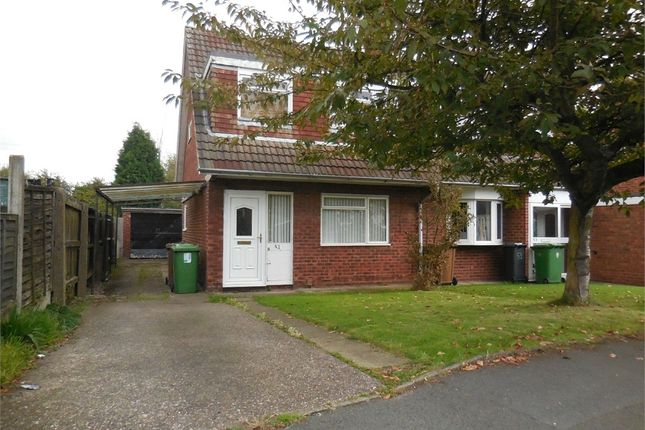 Thumbnail Semi-detached house to rent in Birchover Road, Walsall