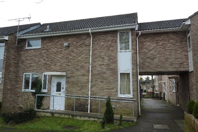 Thumbnail End terrace house to rent in Tovey Court, Andover