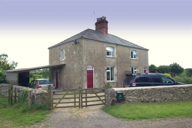 Thumbnail Semi-detached house to rent in Redshed Cottages, Lowesmoor, Tetbury, Gloucestershire
