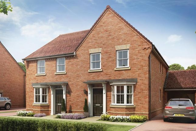 """Thumbnail Semi-detached house for sale in """"Oakfield"""" at Winchester Road, Whitchurch"""