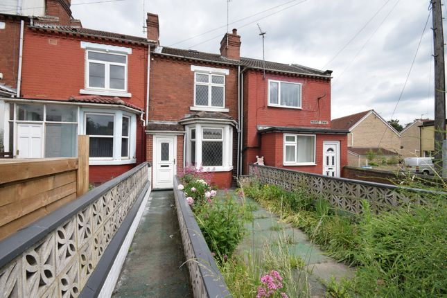 Thumbnail Terraced house to rent in Prospect Terrace, South Kirkby