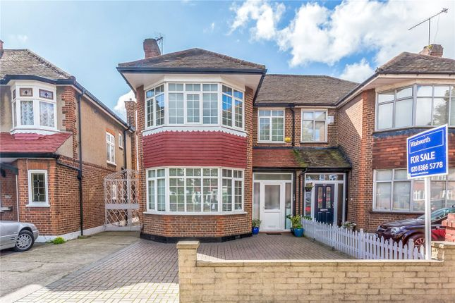 Thumbnail End terrace house for sale in Parsonage Lane, Enfield