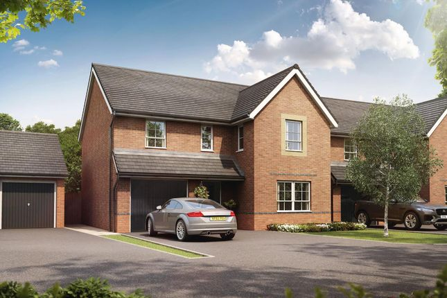 "Thumbnail Detached house for sale in ""Hale"" at Weston Hall Road, Stoke Prior, Bromsgrove"