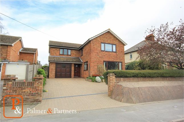 Thumbnail Detached house for sale in Canhams Road, Great Cornard, Sudbury