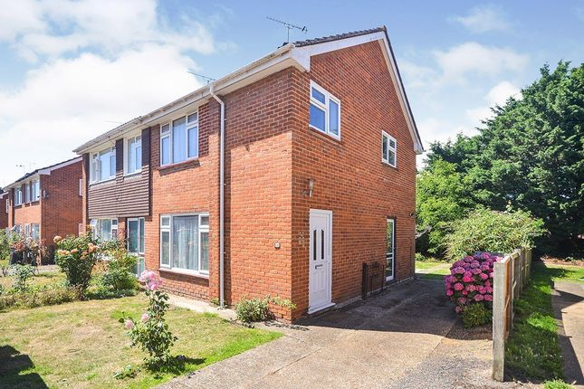 Thumbnail Semi-detached house for sale in College Road, Canterbury