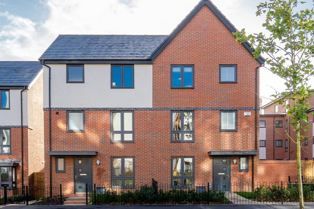 """Thumbnail Town house for sale in """"The Harborne"""" at Austin Way, Birmingham"""