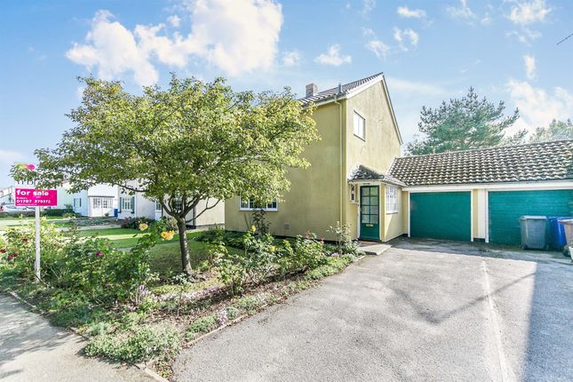 3 bed link-detached house for sale in Pentlow Drive, Cavendish, Sudbury CO10