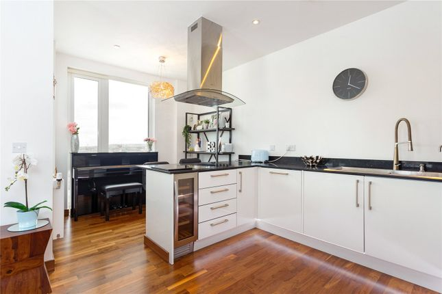 Kitchen of Gooch House, 2 Telcon Way, Greenwich, London SE10