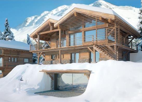 Thumbnail Detached house for sale in Route De La Marlène, 1936 Bagnes, Switzerland