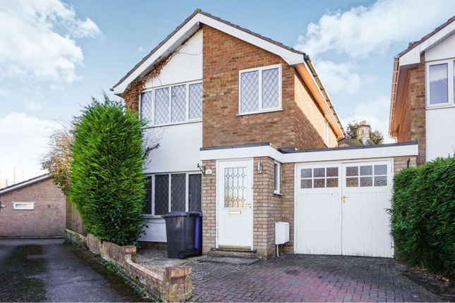 Thumbnail Detached house to rent in Fishpond Close, Denton, Northampton