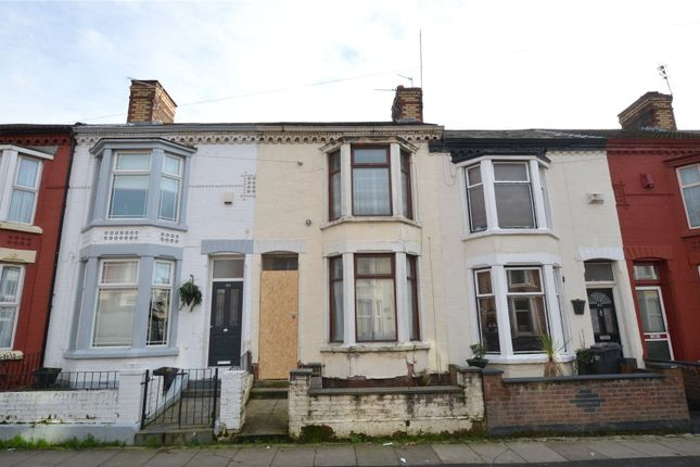 3 bed terraced house for sale in Benedict Street, Bootle, Merseyside