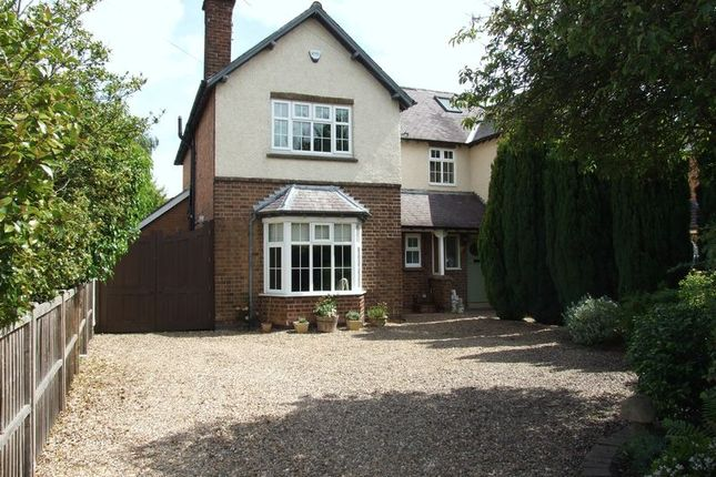 Thumbnail Semi-detached house to rent in Loughborough Road, Quorn, Loughborough