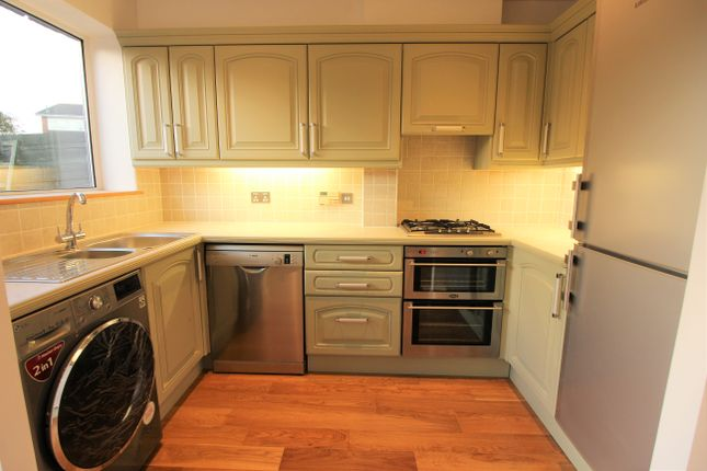Thumbnail End terrace house to rent in Tufton Gardens, West Molesey