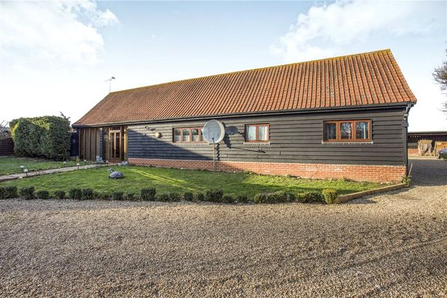 Barn conversion for sale in Mill Road, Newbourne, Woodbridge