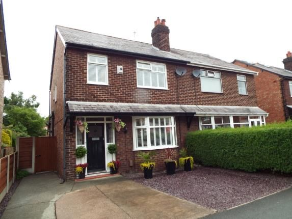 Thumbnail Semi-detached house for sale in Lacey Green, Wilmslow, Cheshire