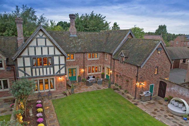 6 bedroom detached house for sale in Arleston Manor Drive, Arleston, Shropshire