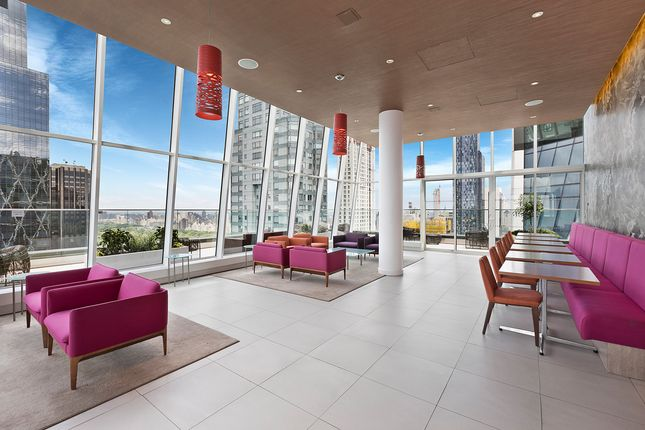 Communal Lounge With City Views