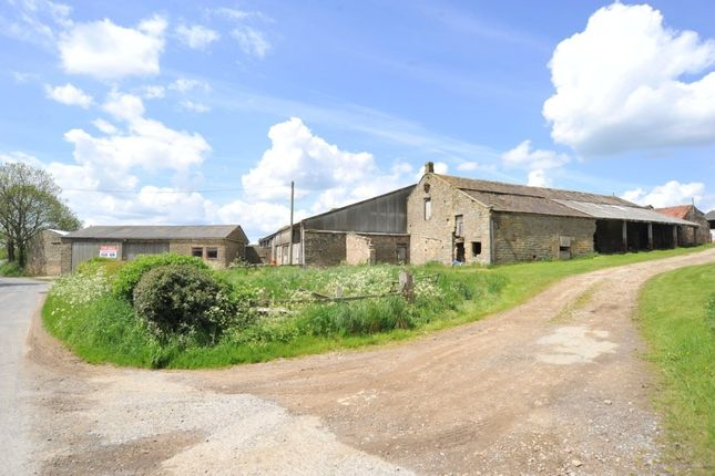 Thumbnail Land for sale in Haddockstones Farm, Watergate Road, Markington