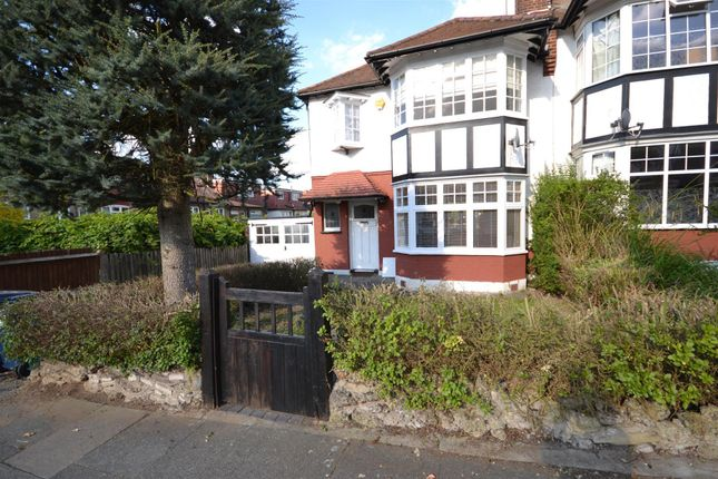 Thumbnail Semi-detached house to rent in West Avenue, West Finchley