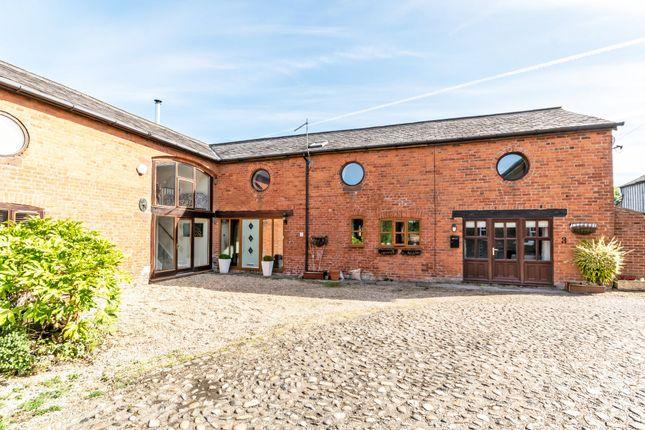 Thumbnail Barn conversion for sale in Tarporley Road, Stretton, Warrington