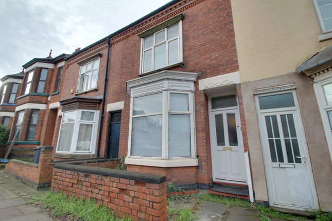 Thumbnail Town house to rent in Welford Road, Leicester