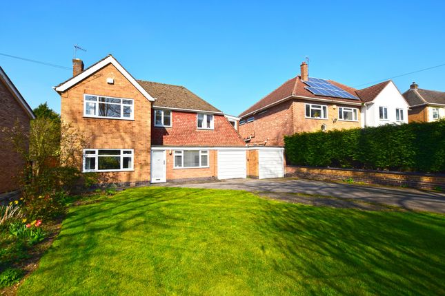 Thumbnail Detached house for sale in The Fairway, Oadby, Leicester, Leicestershire