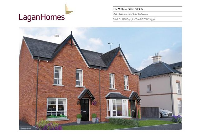 Thumbnail Semi-detached house for sale in 53, Windrush Park, Antrim