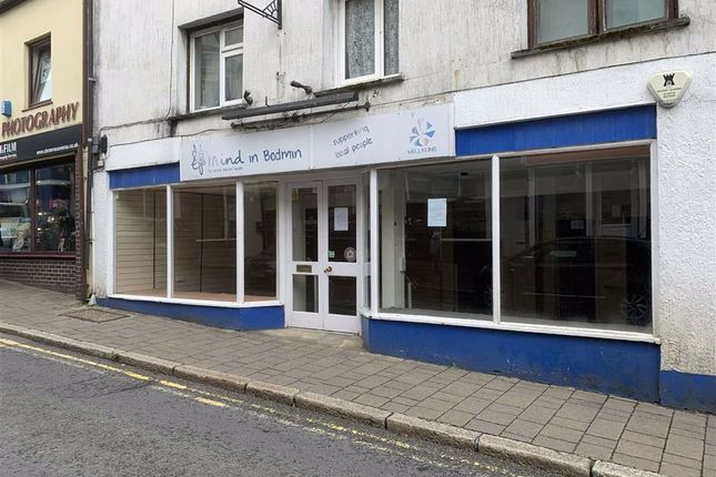 Thumbnail Retail premises to let in 61, Fore Street, Bodmin