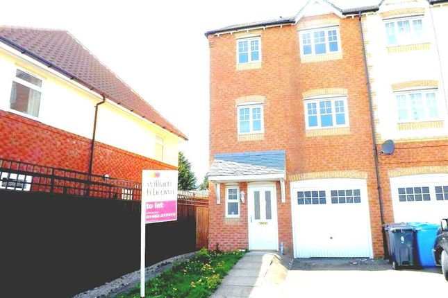 Thumbnail Town house to rent in Hainsworth Park, Hull