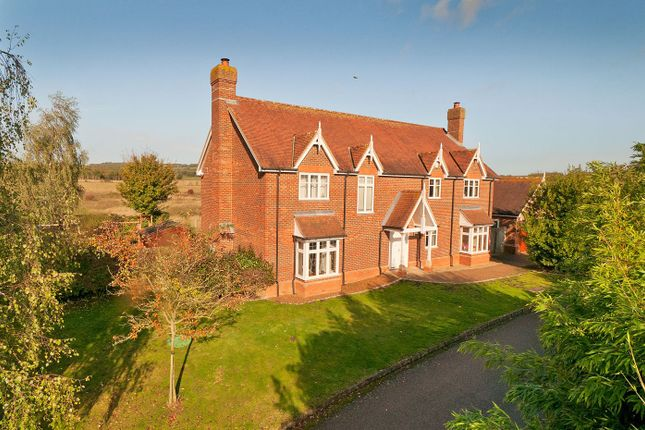 Thumbnail Detached house for sale in Grove Close, Hadlow, Tonbridge
