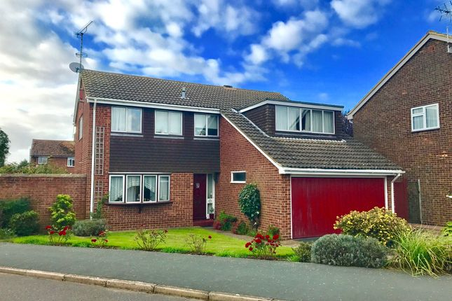 Thumbnail Detached house for sale in Manor Drive, Stewkley, Leighton Buzzard