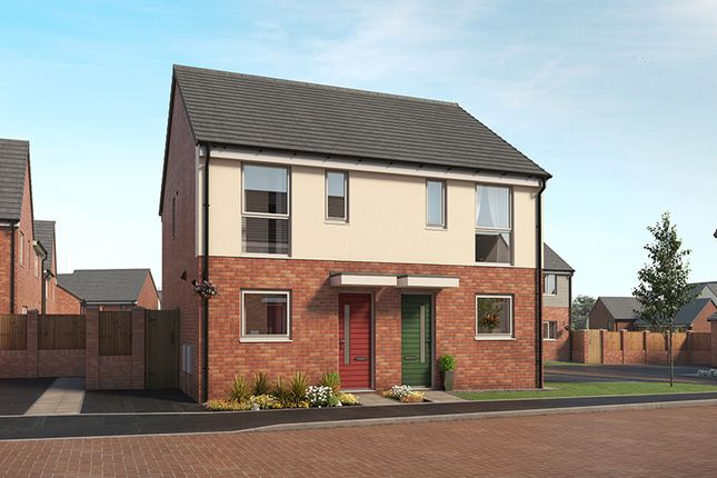 """Thumbnail Property for sale in """"The Haxby"""" at Little Eaves Lane, Stoke-On-Trent"""