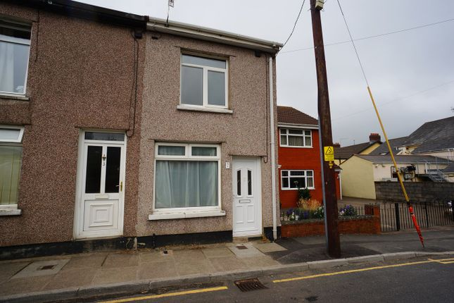 Thumbnail End terrace house for sale in Brookland Road, Risca, Newport
