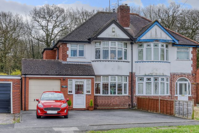 3 bed semi-detached house for sale in Bromsgrove Road, Redditch B97