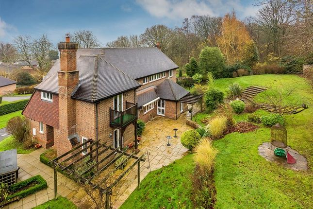 Thumbnail Detached house for sale in Brassey Hill, Limpsfield, Oxted