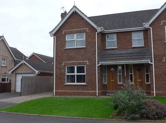Thumbnail Semi-detached house to rent in 56 Brook Lodge, Lower Ballinderry, Lisburn