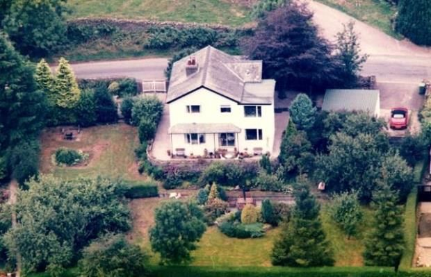 Aerial Picture of Benridding, Bowston, Kendal, Cumbria LA8