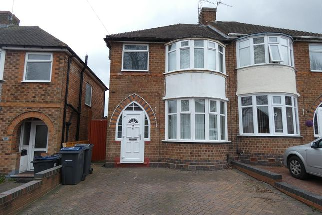 Thumbnail Semi-detached house to rent in Bryn Arden Road, South Yardley, Birmingham